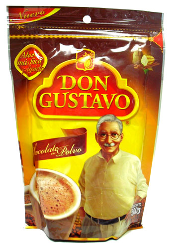 Picture of Don Gustavo Chocolate Cocoa Drink Mix - Item No. 111498