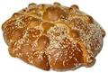 Pan de Muerto con Ajonjoli - Day of the Dead Bread