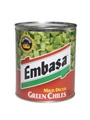 Embasa Diced Green Chiles - Mild