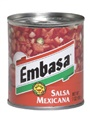 Embasa Red Salsa Mexicana (Pack of 3)