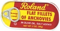 Roland Flat Fillets of Anchovies in Olive Oil, Salt Added