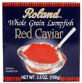 Roland red Lumpfish Caviar 3.5 oz.