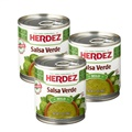 Herdez Salsa Verde - Medium (Pack of 3)