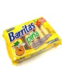 Marinela Barritas de Pina - Pineapple Filled Fruit Bars - 6 Twin Packs