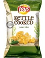 Lay's Kettle Cooked Jalapeno Potato Chips (Pack of 3)