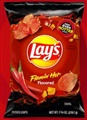 Lay's Flamin' Hot Flavored Potato Chips (Pack of 3)