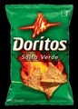Doritos Salsa Verde Flavored Tortilla Chips (Pack of 3)