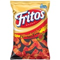 Fritos Brand Flamin' Hot Corn Chips (Pack of 3)