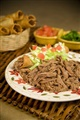 Del Real Foods Shredded Beef for Tacos (Packed in two 16oz pouches)
