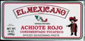 El Mexicano Spiced Seasoning Red Achiote Paste