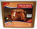 Olla de Barro Frijolera sin Plomo / Lead Free Clay Bean Pot with lid Large