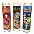 Veladora Catrinas Dia de los Muertos Candle