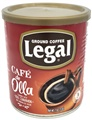 Caf� Legal Ground Coffee Blend with Caramelized Sugar and Cinnamon
