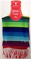 "Cinco de Mayo Fabric Drink Kozy 6 1/2"" x 3 1/2"""