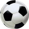 """Soccer Fan Plates 7"""""""