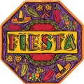 Fiesta Party Paper Plates Octagonal 10""