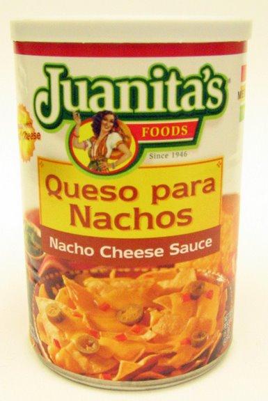 Picture of Juanita's Nacho Cheese Sauce 15 oz - Item No. 1418