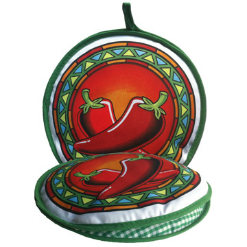 Red Chili Pepper Fabric Tortilla Oven Warmer 10 Quot By La