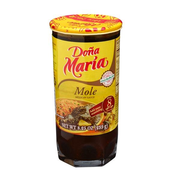 Mole Sauce Doña Maria 8.25 oz.