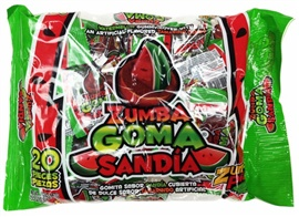 Picture of Zumba Goma Sandia 20 pieces - Item No. 03885-01525