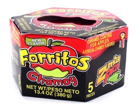 Picture of Zumba Pica Forritos Chamoy (5 pieces) 13.4 oz - Item No. 03885-06311