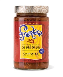 Picture of Frontera Chipotle Salsa with Roasted Tomatillo and Garlic 16 oz - Item No. 04183-11010