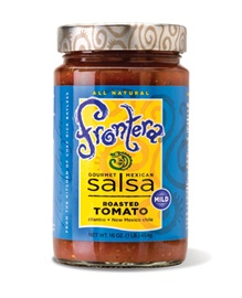 Picture of Frontera Roasted Tomato Salsa with Cilantro and New Mexico Chile 16 oz - Item No. 04183-11020