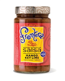 Picture of Frontera Mango Key Lime Salsa with Roasted Tomato and Habanero 16 oz - Item No. 04183-11130