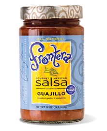Picture of Frontera Guajillo Salsa with Roasted Garlic and Tomatillo 16 oz - Item No. 04183-13020