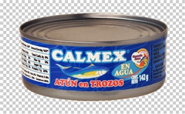 Picture of Calmex Chunk Light Tuna in Water 5 oz (Pack of 3) - Item No. 04730-00141