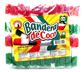 Picture of Bandera de Coco - Coconut Candy (14.1 oz) 20 pieces - Item No. 05105-83429