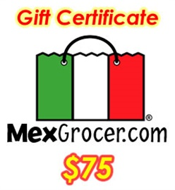 Picture of MexGrocer.com $75 Gift Certificate - Item No. 10002