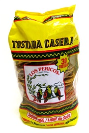 Picture of Los Pericos Tostadas Casera 14 oz - Item No. 10609-01107