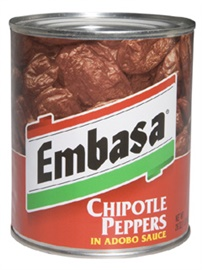 Picture of Embasa Chipotle Peppers in Adobo Sauce 26 oz. - Item No. 1149