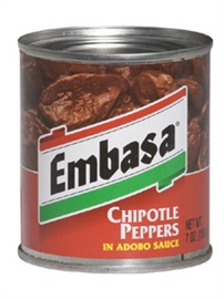 Picture of Chipotle - Embasa Chipotle Peppers in Adobo Sauce 7 oz (Pack of 3)- Item No.1150