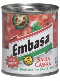 Picture of Embasa Salsa Casera 7 oz (Pack of 3) - Item No. 1157