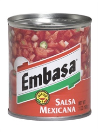 Picture of Embasa Salsa Mexicana - Red 7 oz (Pack of 3)- Item No.1158