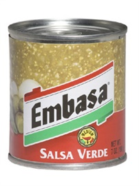 Picture of Salsa Verde Embasa - Green Tomatillo Sauce #10 can - Item No. 1160
