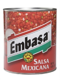 Picture of Embasa Salsa Mexicana - Red #10 can - Item No. 1161