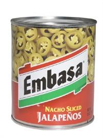 Picture of Embasa Nacho Sliced Jalape�os 26 oz.- Item No.1169