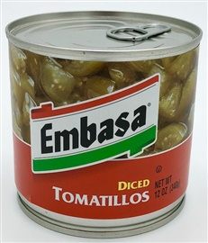 Picture of Embasa Whole Tomatillos 12 oz. - Item No. 1175