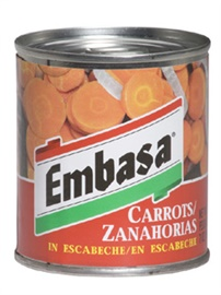 Picture of Embasa Carrots in Escabeche - Zanahorias en Escabeche 7 oz (Pack of 3) - Item No. 1178