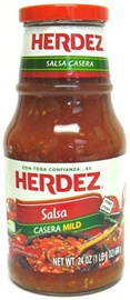 Picture of Salsa Casera Herdez Mild 24 oz. - Item No. 1223