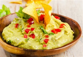 Picture of Creamy Guacamole and Chips Recipe - Item No. 123-creamy-guacamole-and-chips
