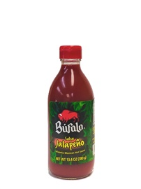 Picture of Salsa Jalapeno Mexican Hot Sauce by Bufalo 13.4 oz.- Item No.1247