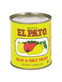 Picture of Hot Tomato Sauce - El Pato Salsa de Chile Fresco - 7.75 oz (Pack of 6) - Item No. 1276