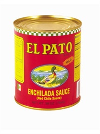Picture of Enchilada Sauce - El Pato Red Chile Enchilada Sauce 28 oz. - Item No. 1280