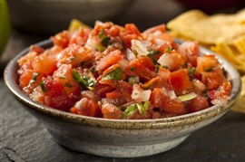 Picture of Pico de Gallo - Mexican Recipe - Item No. 129-picodegallo