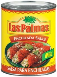 Picture of Enchilada Sauce Mild by Las Palmas 28 OZ - Item No. 1295