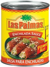 Picture of Enchilada Sauce Hot by Las Palmas 28 OZ - Item No. 1296